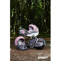 Anex Sport PA05 (серый, розовый) 3 в 1