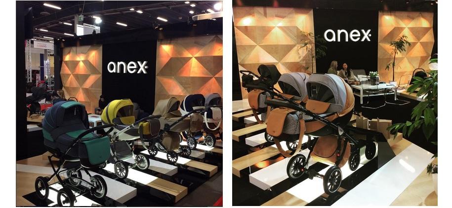 фото колясок Anex